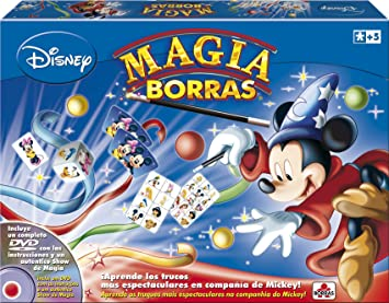 Educa Borrás - Magia Edición Mickey Magic, 15 trucos, contiene ...