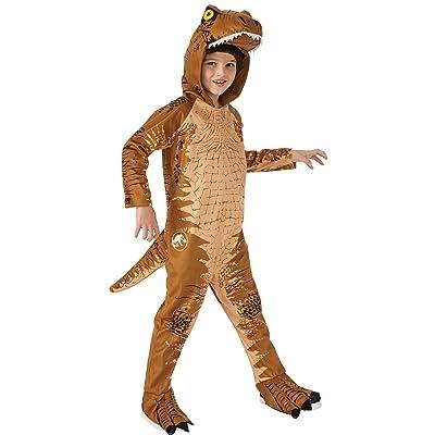 Rubie's Jurassic World: Fallen Kingdom Child's T-Rex Oversized Costume Jumpsuit, Small, Jurassic World: Fallen Kingdom T-Rex Oversized Jumpsuit: Toys & Games
