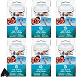 """HP Sprocket Photo Paper (6 Pack) Sticky-Backed 120 Sheets Total, (2""""x3""""-inch) Made for HP Sprocket Portable Photo…"""