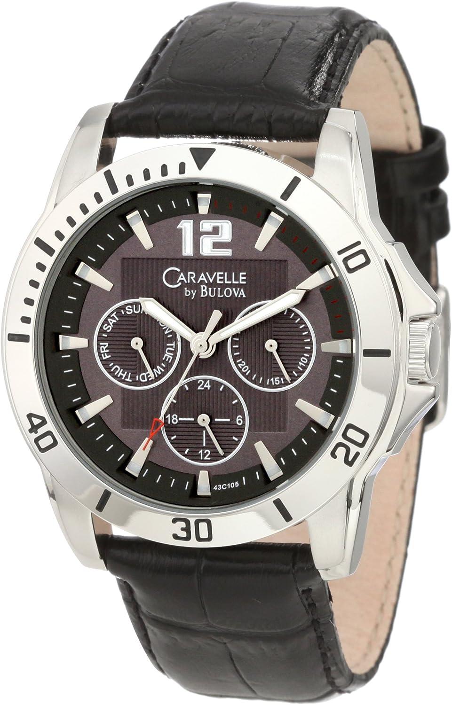 Caravelle by Bulova Men s 43C105 Multifunction sport Watch