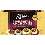 Reese Rolled Anchovies, 2 Ounce Tins (Pack of 10)