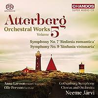 Atterberg: Orchesterwerke Vol. 5 - Sinfonien 7 & 9
