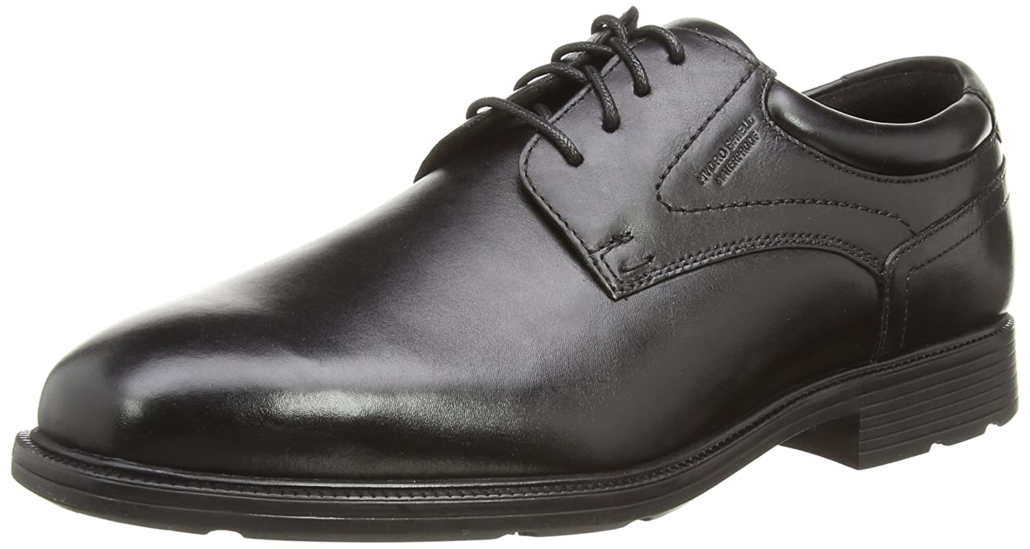 Rockport PLN Toe, Derby Homme Noir (Black) 40.5 EU A12998