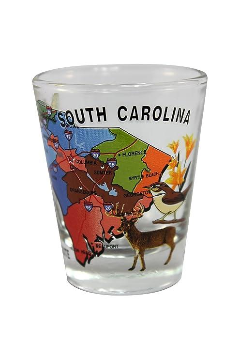 Amazoncom Souvenir Shot Glass South Carolina Sc Box Of 12