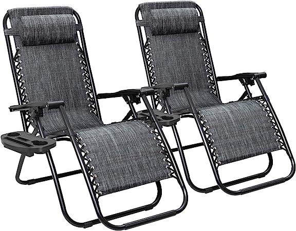 Flamaker Patio Zero Gravity Chair - Budget-friendly
