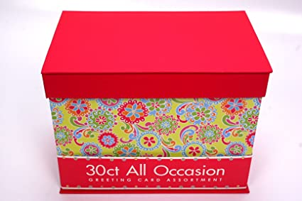 Amazon paper magic 30 ct all occasion greeting card collection paper magic 30 ct all occasion greeting card collection pink floral decorative box m4hsunfo