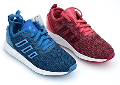 huge selection of 5fd29 b279d Image Unavailable. Image not available for. Colour  adidas Junior BOY Girl  Sneaker Shoes Casual Code S81929 - S81928 ZX Flux ...