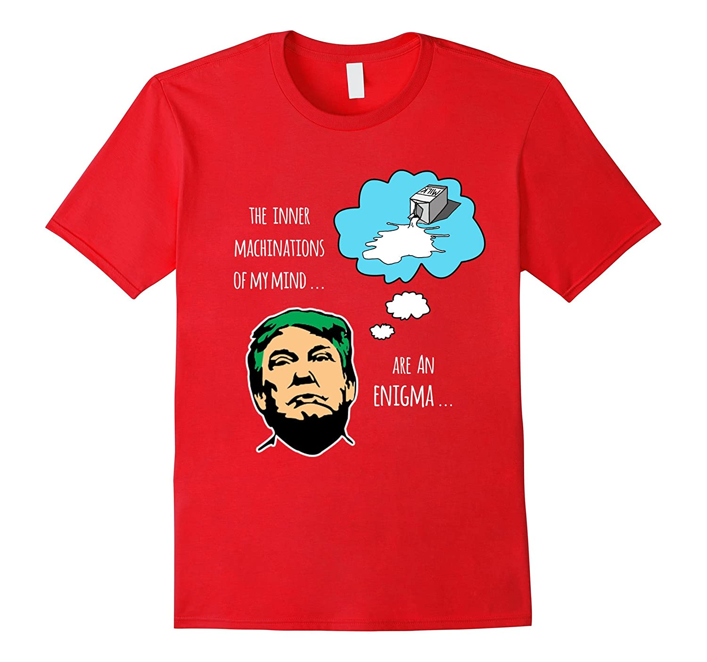 Anti Trump Mind is an Enigma T-shirt-BN