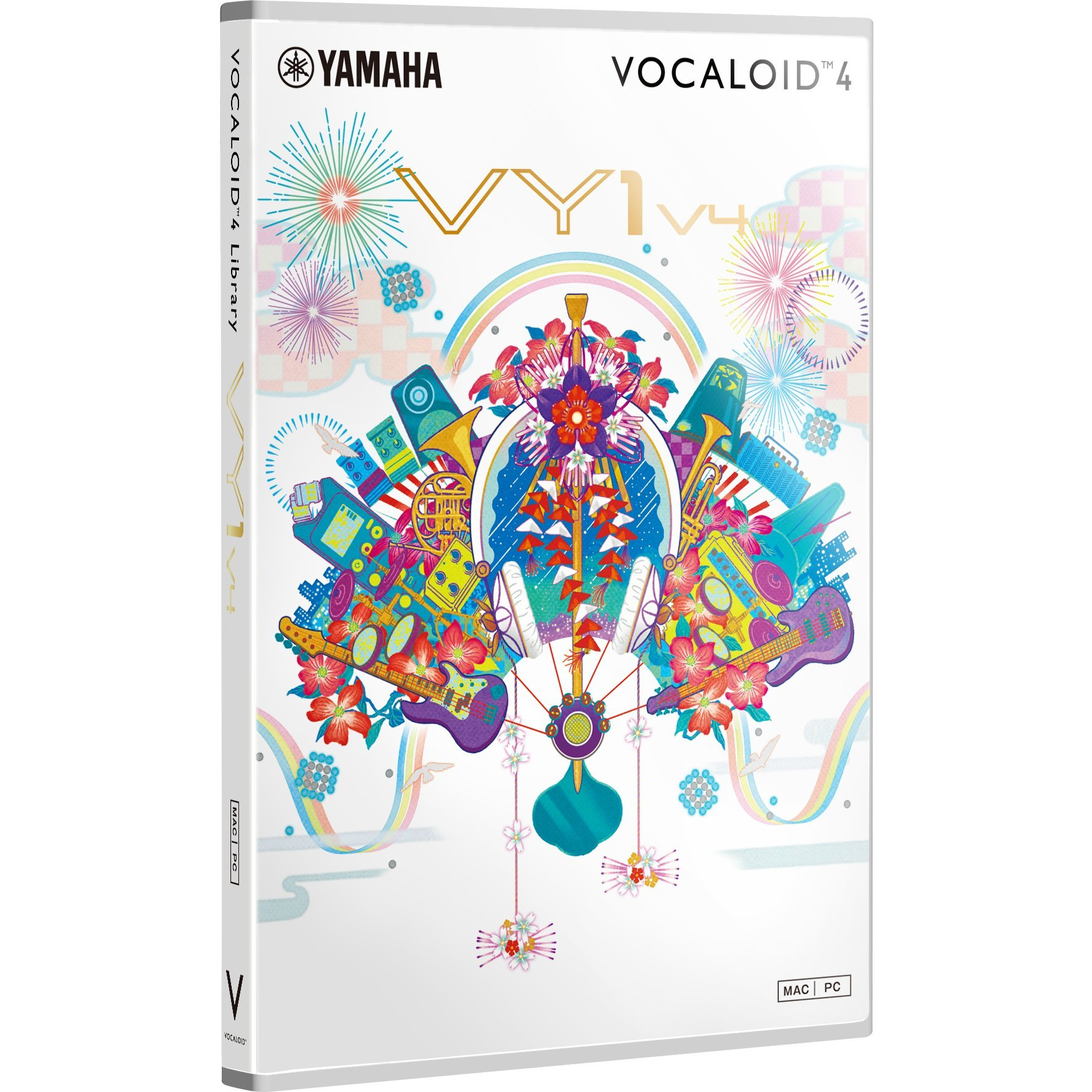 VOCALOID4 Library VY1V4 by YAMAHA