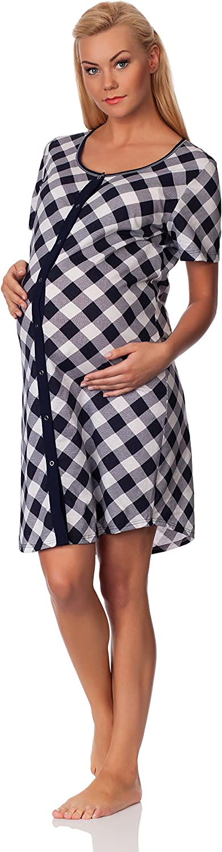 Italian Fashion IF Camicia da Notte Premaman 3G1 0114