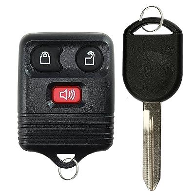 KeylessOption Keyless Entry Remote Control Fob Uncut Blank Car Ignition Key For GQ43VT11T, CWTWB1U345: Automotive