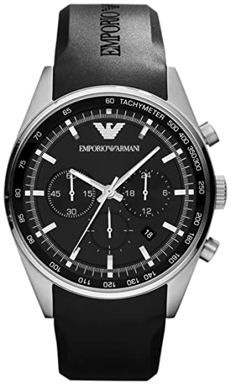 60cabf092cea Emporio Armani AR5977 - Reloj cronógrafo de Cuarzo para Hombre ...