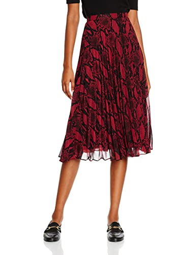 New Look Sammy Snake Pleat Midi, Falda para Mujer
