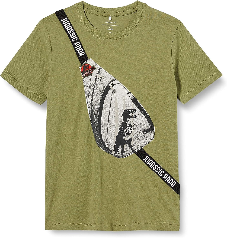 NAME IT Nmmjurassic Otis SS Top LIC Camiseta para Ni/ños