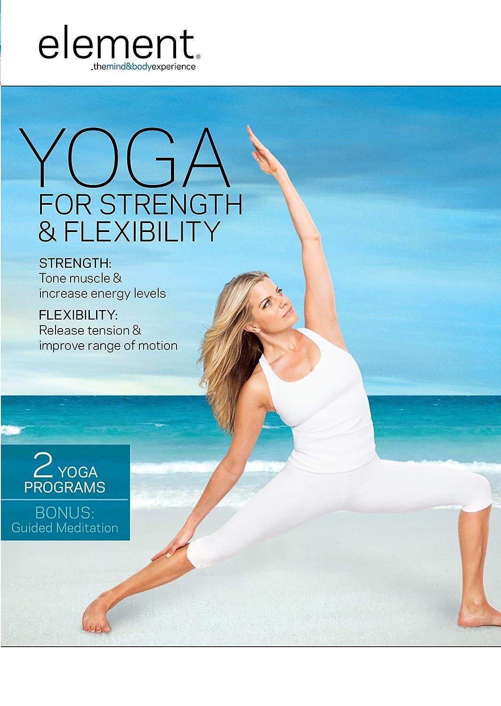 amazon com element yoga for strengh u0026 flexibility ashley turner