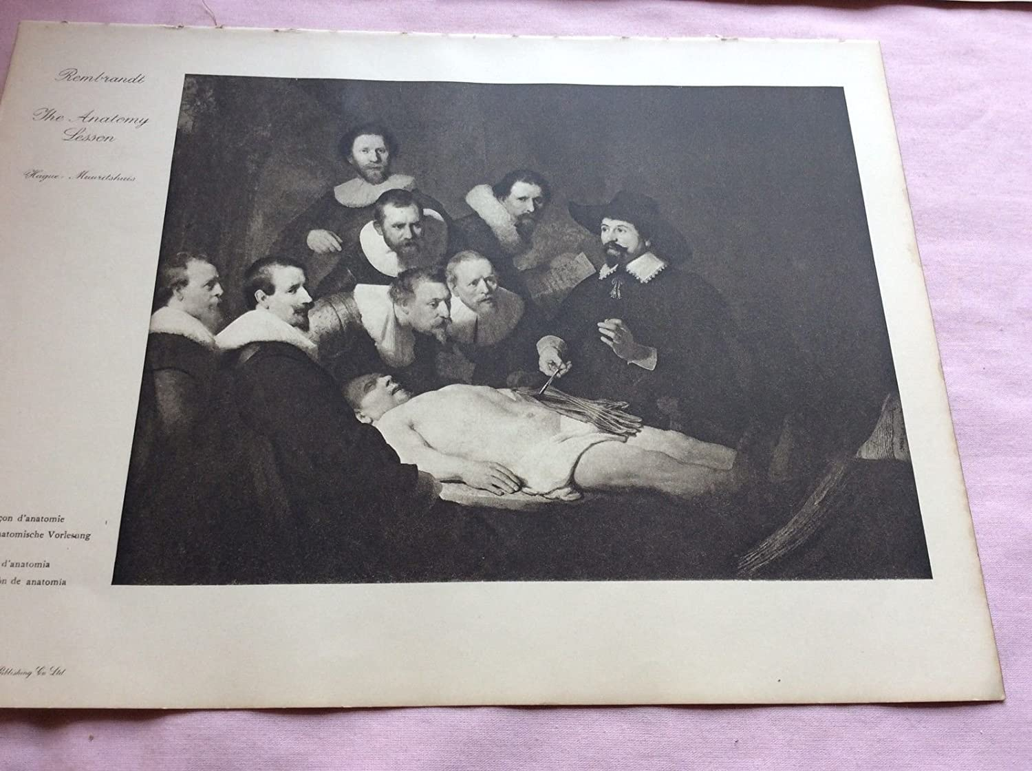 Amazon.com: Listing 2 Lithograph Print Old & Modern Masters (The ...