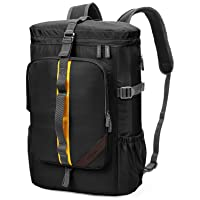 AirCase Explorer Laptop Backpack Rucksacks Bag for 13-Inch, 14-Inch, 15-Inch Laptop, 25L (Black)