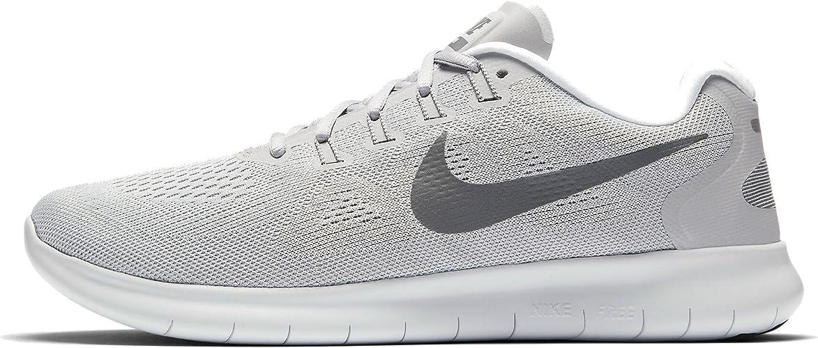 Nike Men S Running Training Shoes Grey Wolf Grey Dark Grey Pure Platinum 010 Road Running