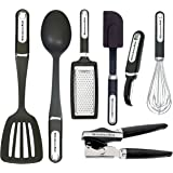 KitchenAid 7-Piece Essential Tool and Gadget Set, Black
