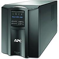 APC 1500VA Smart UPS with SmartConnect, SMT1500C Sinewave UPS Battery Backup, AVR, 120V, Line Interactive…