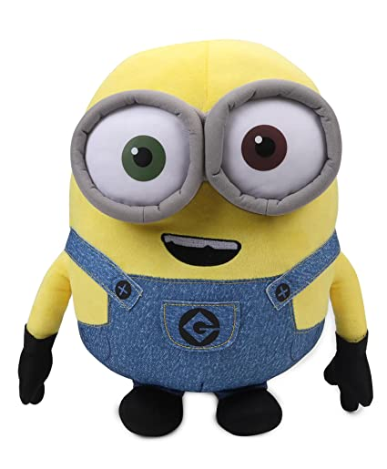 Minions Bob Plush, Multi Color (8 Inch)