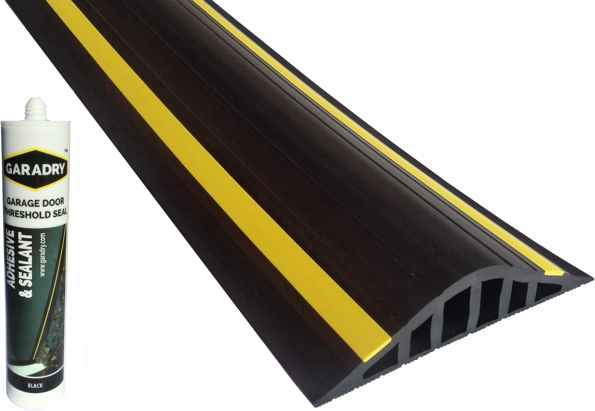 Garadry 1 ½  Garage Door Flood Barrier Threshold Kit ...  sc 1 st  Amazon.com & Weatherproofing Garage Door Seals | Amazon.com | Building Supplies ...