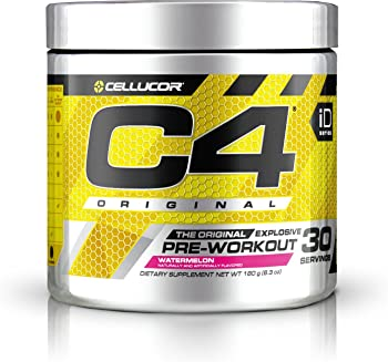 Cellucor C4 Original Pre Workout Powder Energy Drink