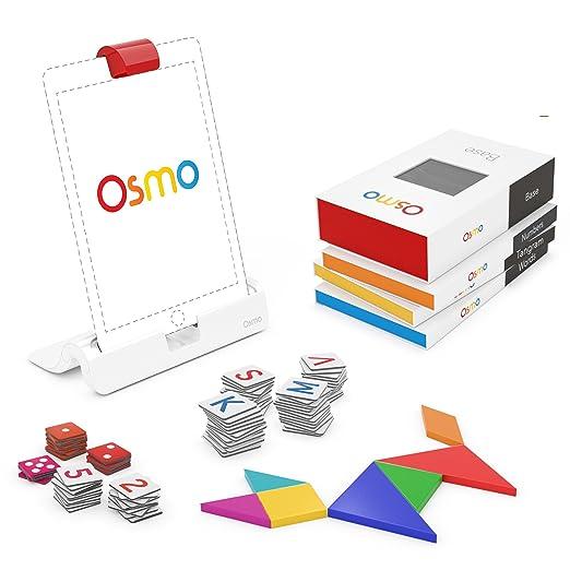 24 opinioni per Osmo TP-OSMO-02/B Genius Kit Base Inclusa, Numbers, Words, Tangram, Newton,