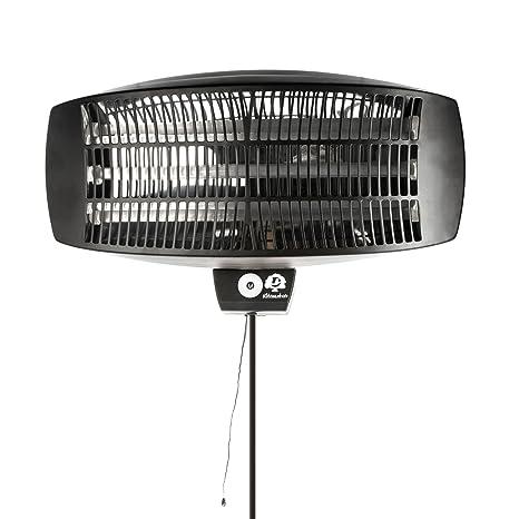 Ultranatura Calefactor Eléctrico de 2100 W de Pie o para Montar a la Pared - Termoventilador
