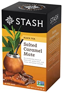 Salted Caramel Mate Black Tea Stash Tea 18 Bag