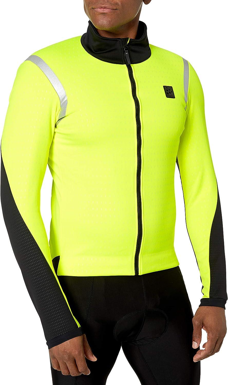 Craft Hale Subz Reflecitve Windproof Warm Cycling Bike Jacket Hale Subz Reflecitve - Chaqueta de ciclismo para bicicleta (cortavientos) Hombre