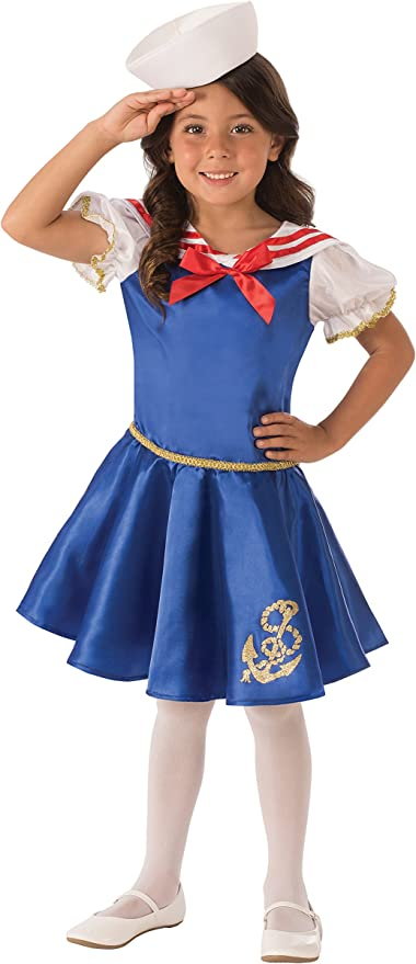 Rubie's Costume Sailor Girl Value Child Costume, Small