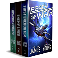 Legacy of War: The Complete Series (Books 1-3): First Encounter, Enemy Lines, Invasion Force (Complete Series Box Sets)