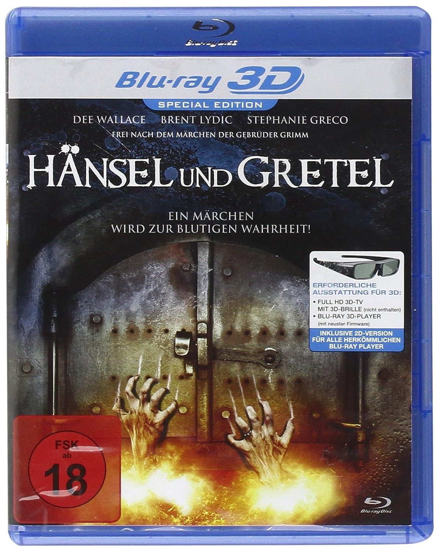 Hänsel und Gretel [Blu-ray 3D] [Special Edition]: Amazon.de: Brent ...