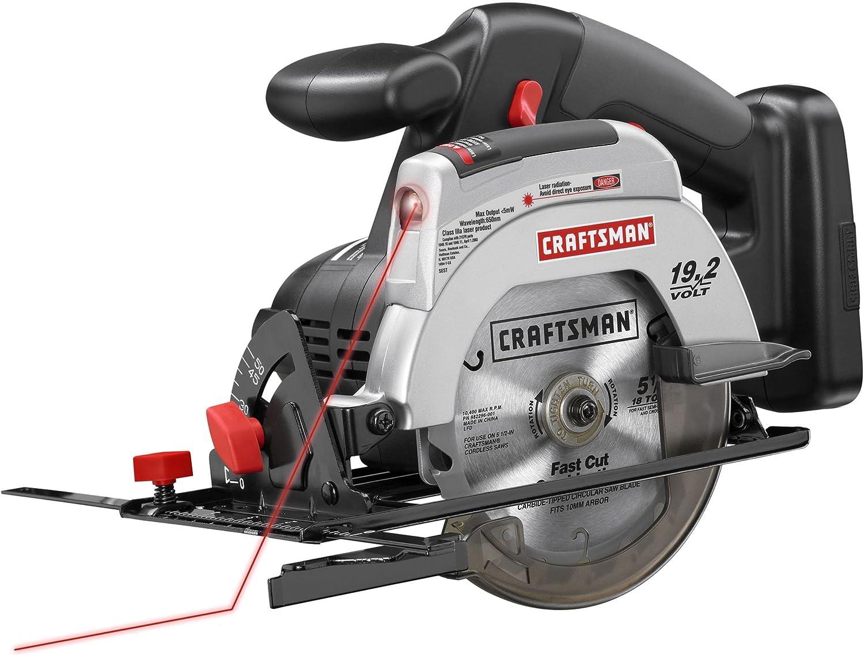 Craftsman C3 19.2 Volt 5 1//2 Inch Circular Saw Model CT2000 BARE TOOL