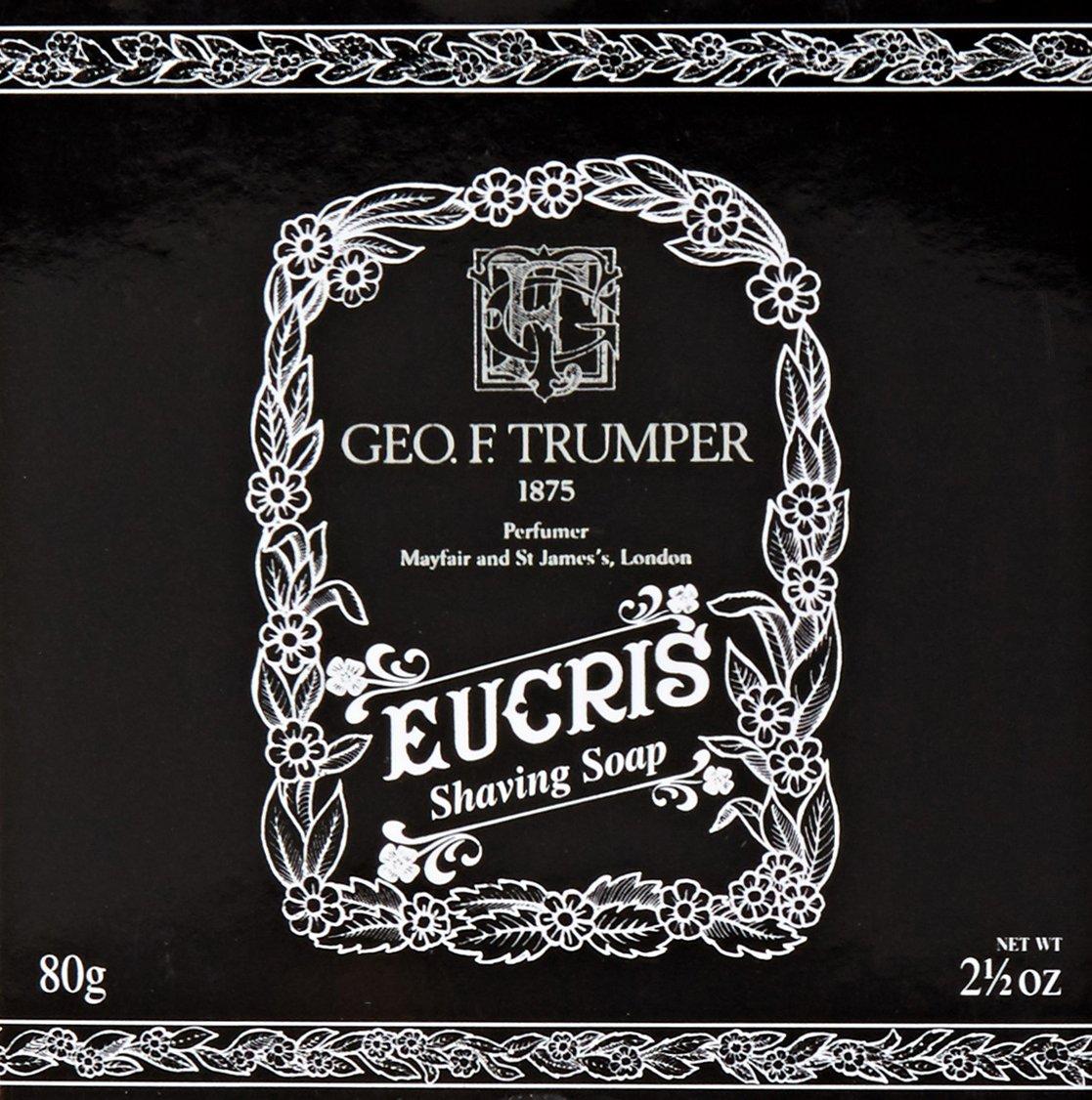Geo F. Trumper Eucris Hard Shaving Soap Refill 80g