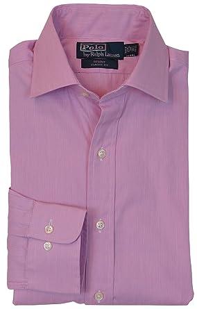 def3fb355 Polo Ralph Lauren Mens Long Sleeve Regent Classic Fit Dress Shirt at ...
