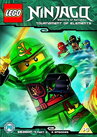 Lego Ninjago - Masters Of Spinjitzu: Tournament Of Elements DVD ...