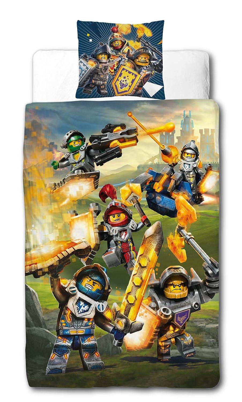 Möbel Wohnen Lego Nexo Knights Wende Bettwäsche Set Knight 135x200