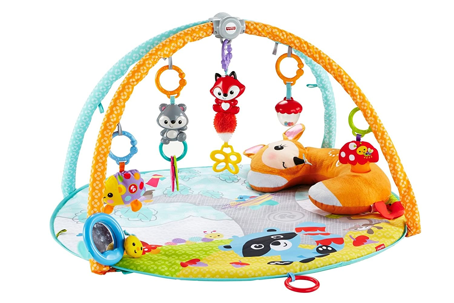 e9d26f36e Fisher-Price CLJ47 Moonlight Meadow Deluxe Play Gym  Amazon.co.uk  Baby