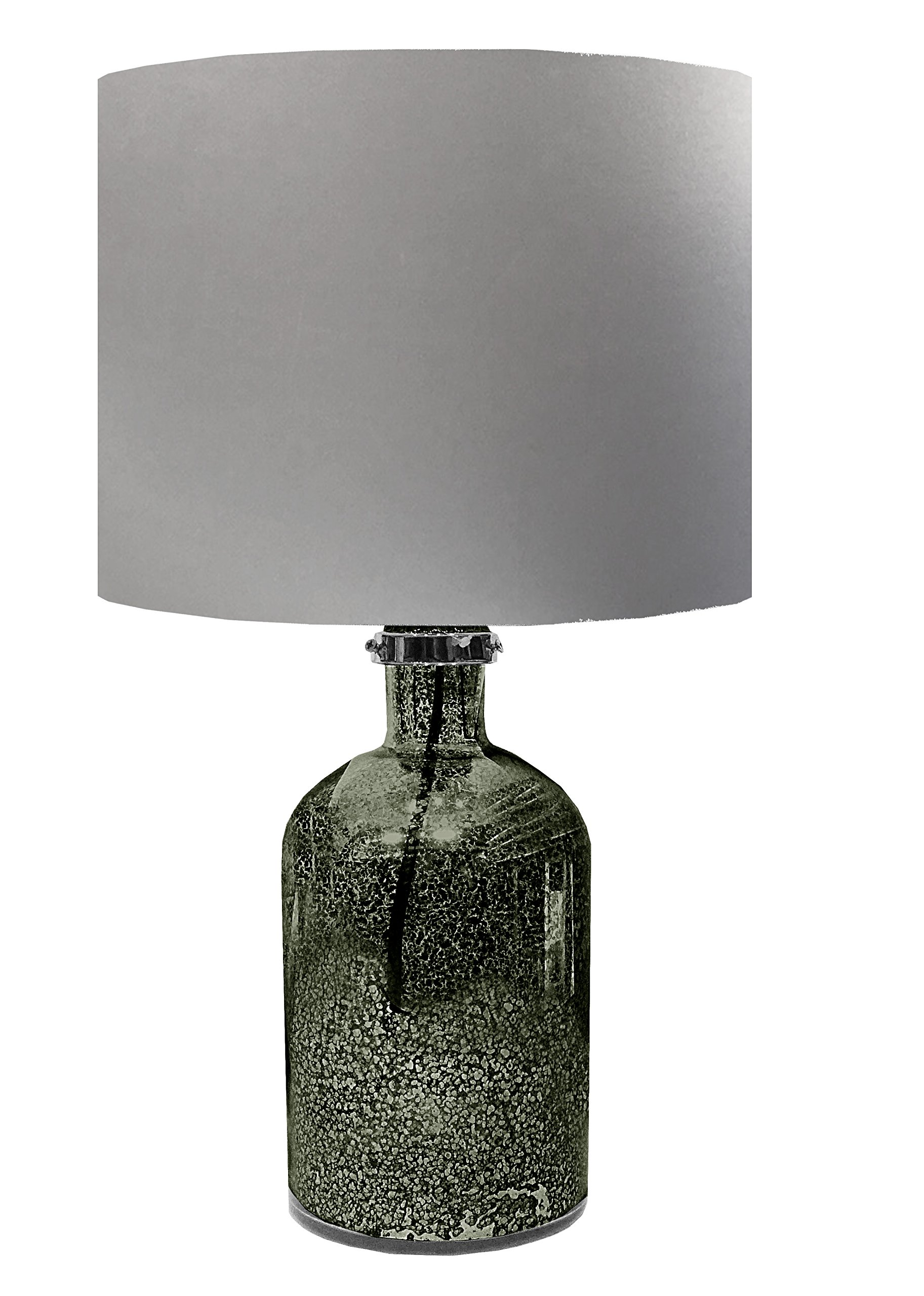 Urban Shop Mercury Lamp, Silver
