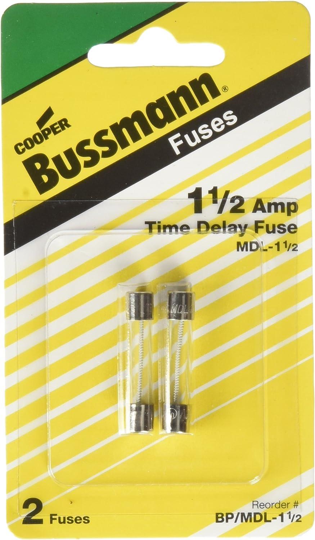 FUSE BUSSMANN MDL 1//4 AMP 250 VOLT SLOW BLO QTY 5