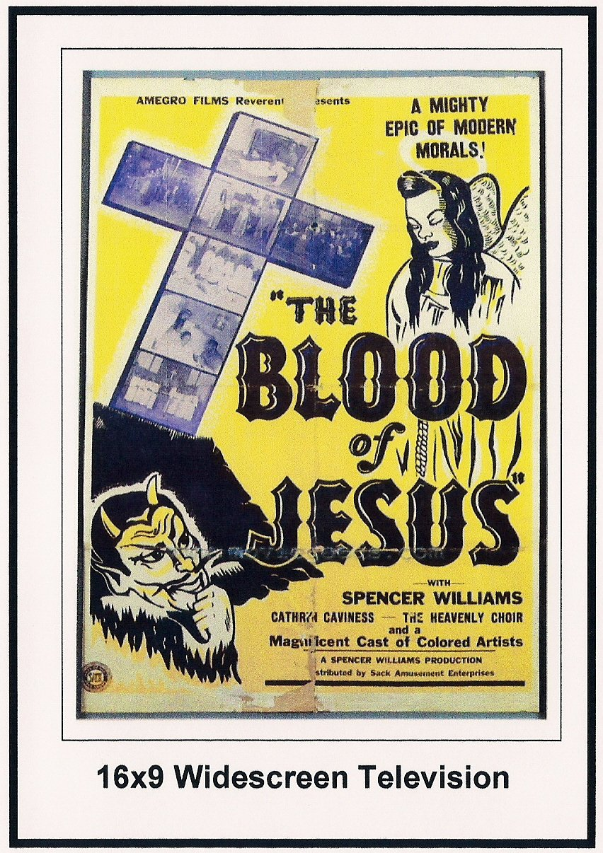 Blood of Jesus Widescreen Television