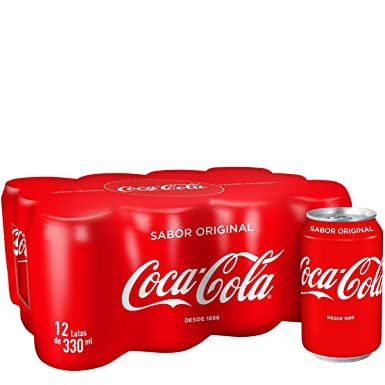 Coca-Cola - Lata 330 ml (Pack de 12) - [pack de