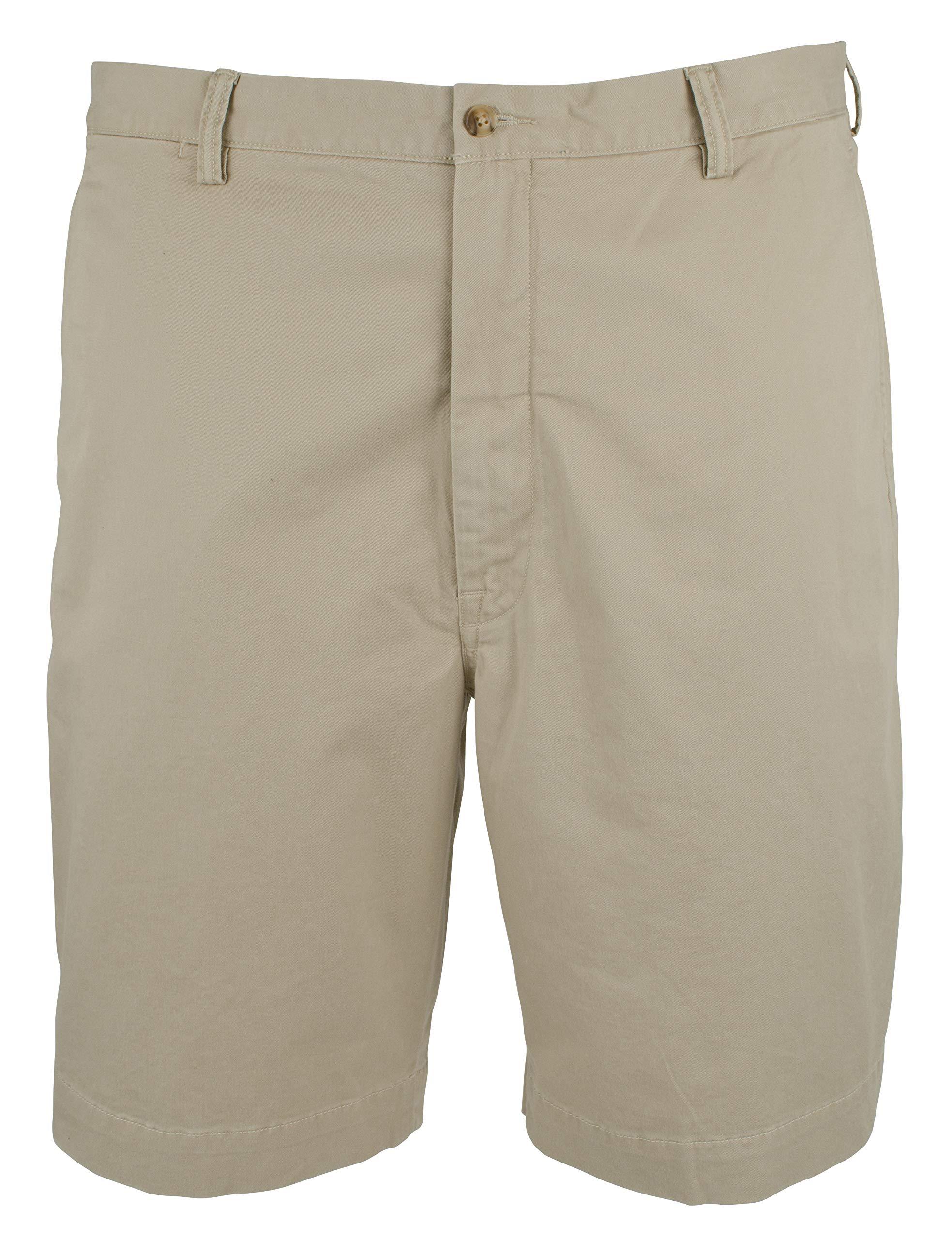 Polo Ralph Lauren Men's Big & Tall Stretch Classic Fit Shorts (46B 9, Khaki Tan)