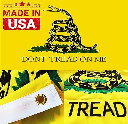 Amazon Winbee Gadsden Flag Tea Party Dont Tread On Me