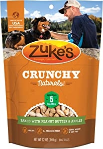 Zuke's Crunchy Naturals All Natural Baked Low Calorie Dog Treats