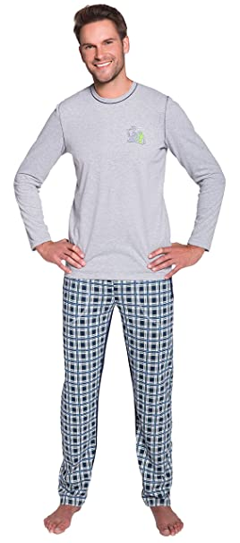 Italian Fashion IF Hombre Pijamas Cyril 0223 (Melange, XXL)
