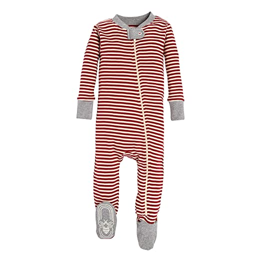 84b8ac744ce Image Unavailable. Image not available for. Color  Burt s Bees Baby Baby  Boy s 1-Pack Unisex Pajamas ...