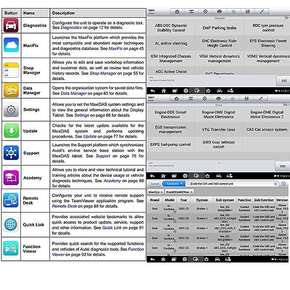 Autel Maxidas DS808 Bi-Directional Automotive OBD2 Scanner